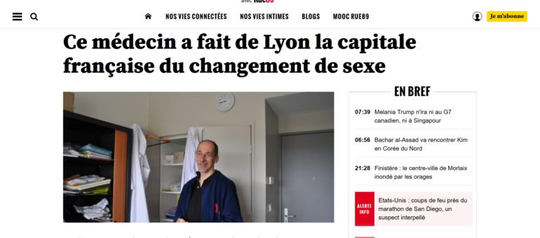 Dr Journel, ce médecin qui a fait de Lyon la capitale du changement de sexe