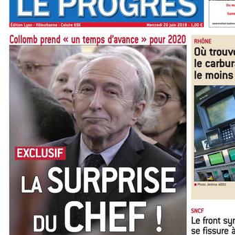 Gérard Collomb va compter ses partisans pour Lyon 2020 dans une association