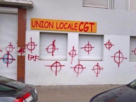 Capture d'écran de la page Facebook de l'UL CGT 5e/9e arrondissement de Lyon