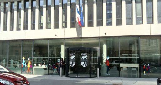 Le siège de l'Université de Lyon, situé rue Pasteur. Le bâtiment accueille également un IUT de Lyon 3 et une résidence universitaire. Il a été inauguré en 2016 par Najat Vallaud-Belkacem, alors ministre de l'Education nationale. ©PP/Rue89Lyon