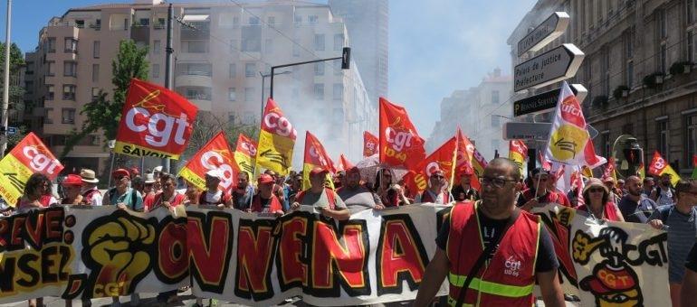 A Lyon, dernière manif avant les vacances contre la politique d'Emmanuel Macron