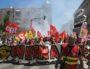 La tête de la manf interpro du 28 juin à Lyon était tenue par la CGT cheminots. PP/Rue89Lyon