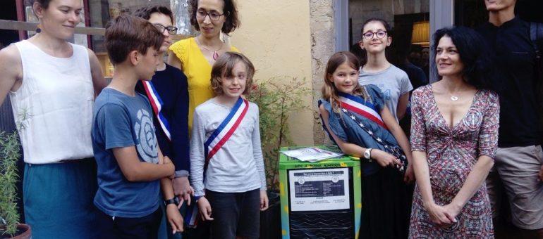 La première boite à partagealimentaire de Lyon : «dédramatiser le fait de se servir»