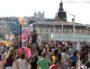 20e édition de la Marche des fiertés à Lyon, pont de la Guillotière. ©Hétéroclite