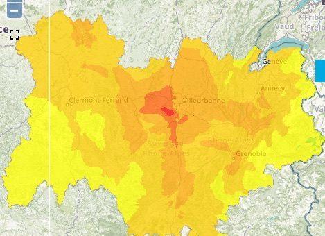 Premier pic de pollution à l'ozone de la saison 2018 à Lyon