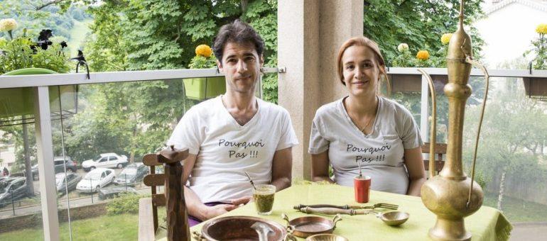 «Pourquoi pas», le foodtruck bienvenu de réfugiés syriens à Lyon