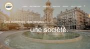 Capture d'écran du site de l'ISSEP, l'école de science politique de Marion Maréchal Le Pen