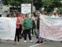 Manifestation d'un collectif d'enseignants à Vaulx-en-Velin le mardi 5 juin 2018. ©PB/LBB/Rue89Lyon