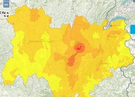 Week-end du 14 juillet à Lyon: deuxième pic de pollution à l'ozone