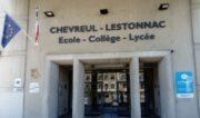 Photographie de la façade du groupe scolaire Chevreul-Lestonnac.
