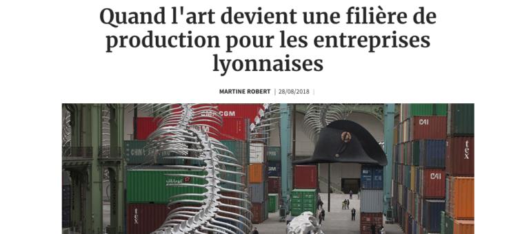 Biennale d'art contemporain de Lyon : préférence locale pour la fabrication des oeuvres en 2019