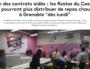 A Grenoble, la fin des contrats aidés provoque l'arrêt des distributions des Restos du Coeur