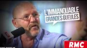 """Serge Dufoulon, capture d'écran d'une vidéo de l'émission """"Les grandes gueules RMC"""""""