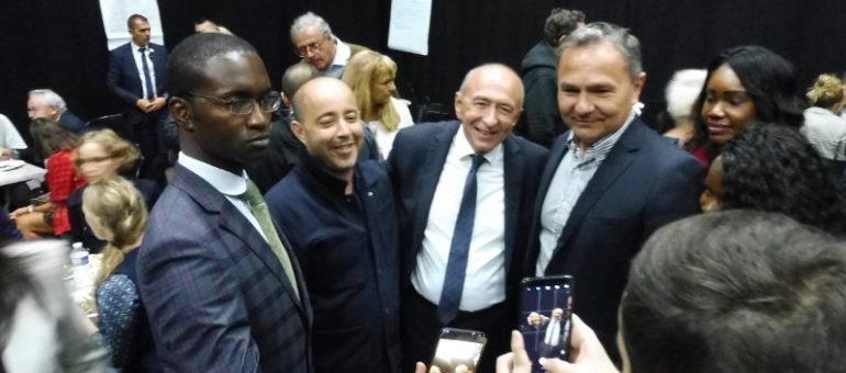 Meeting d'En Marche à Lyon : bienvenue à Collomb-land