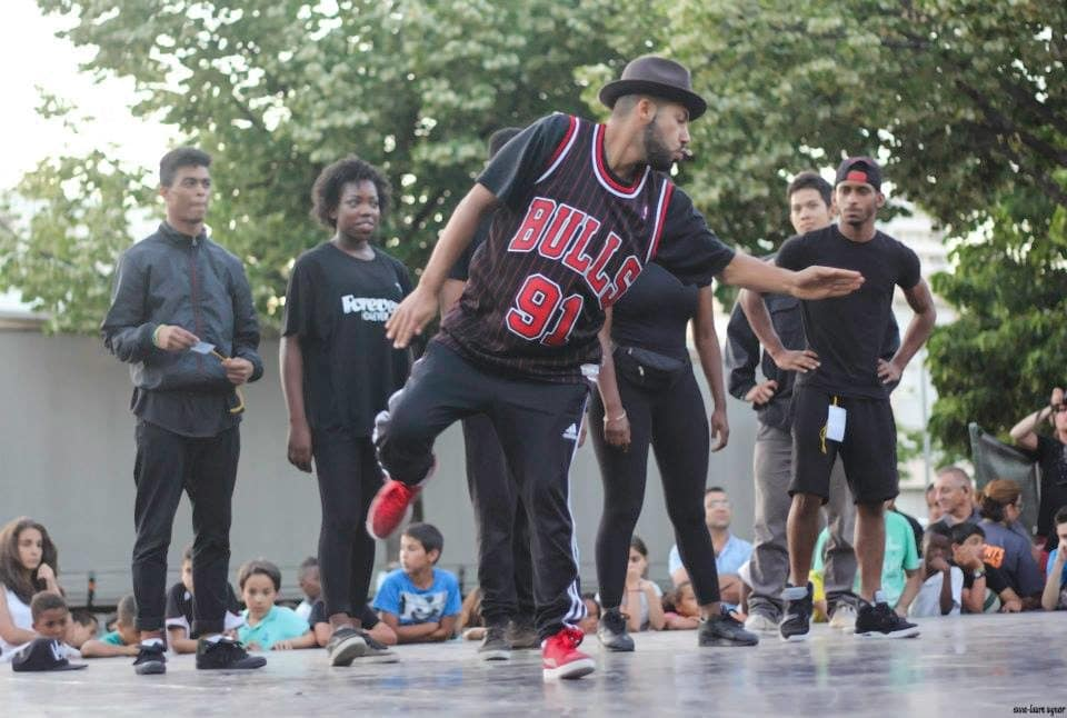 Ali House à une battle de danse-©Ali House