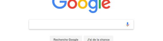 Capture d'écran du moteur de recherche Google