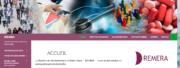 Capture d'écran du site web du Remera.