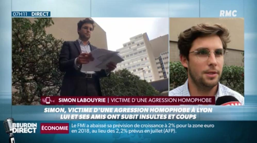 Victime d'une agression homophobe à Lyon, «dans l'indifférence générale»