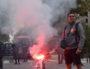 Un manifestant, le 9 octobre 2018 à Lyon lors de la dernière manif interprofessionnelle et intersyndicale. @Aurélien Defer