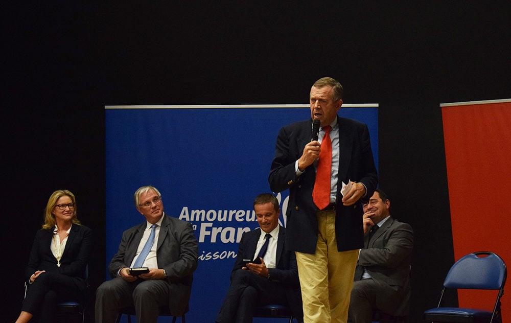 Patrick Louis, directeur du conseil scientifique de l'Issep, la récente école de Marion Maréchal-Le Pen. © Aurélien Defer