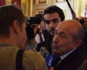 Gérard Collomb a démissionné du ministère de l'Intérieur le 3 octobre pour reprendre son poste de maire de Lyon. © Aurélien Defer/Rue89Lyon