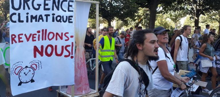 La Marche pour le climat et ses suites : une rentrée branchée «environnement» à Lyon