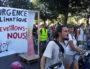 La tête de la Marche pour le climat à Lyon le 8 septembre. ©LB/Rue89Lyon