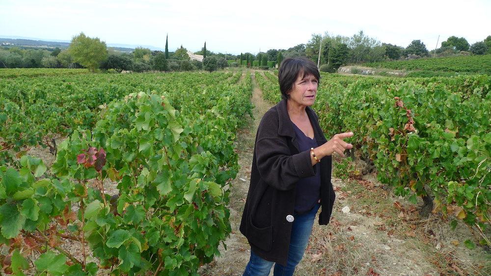 Michèle Aubery-Laurent a repris le domaine Gramenon en 1999. FD/Rue89Lyon
