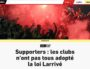 Sanctions de supporters de l'OL