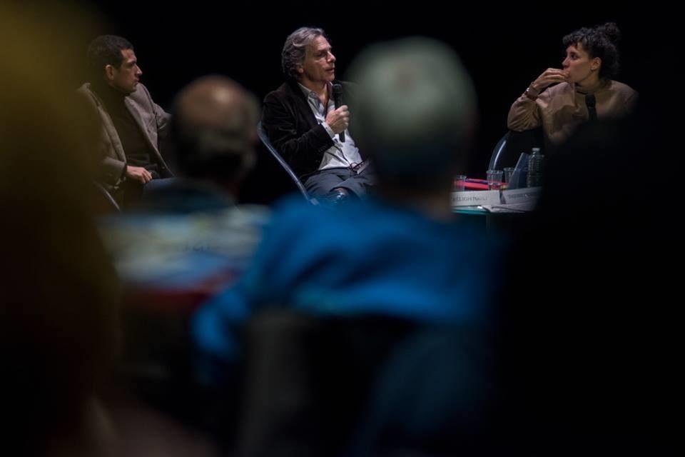 Le philosophe Thierry Ménissier et le juriste Béligh Nabli invités du festival La Chose Publique. ©Bertrand Gaudillère/Item