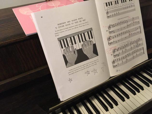 Un piano d'apprentissage. ©Rue89Lyon