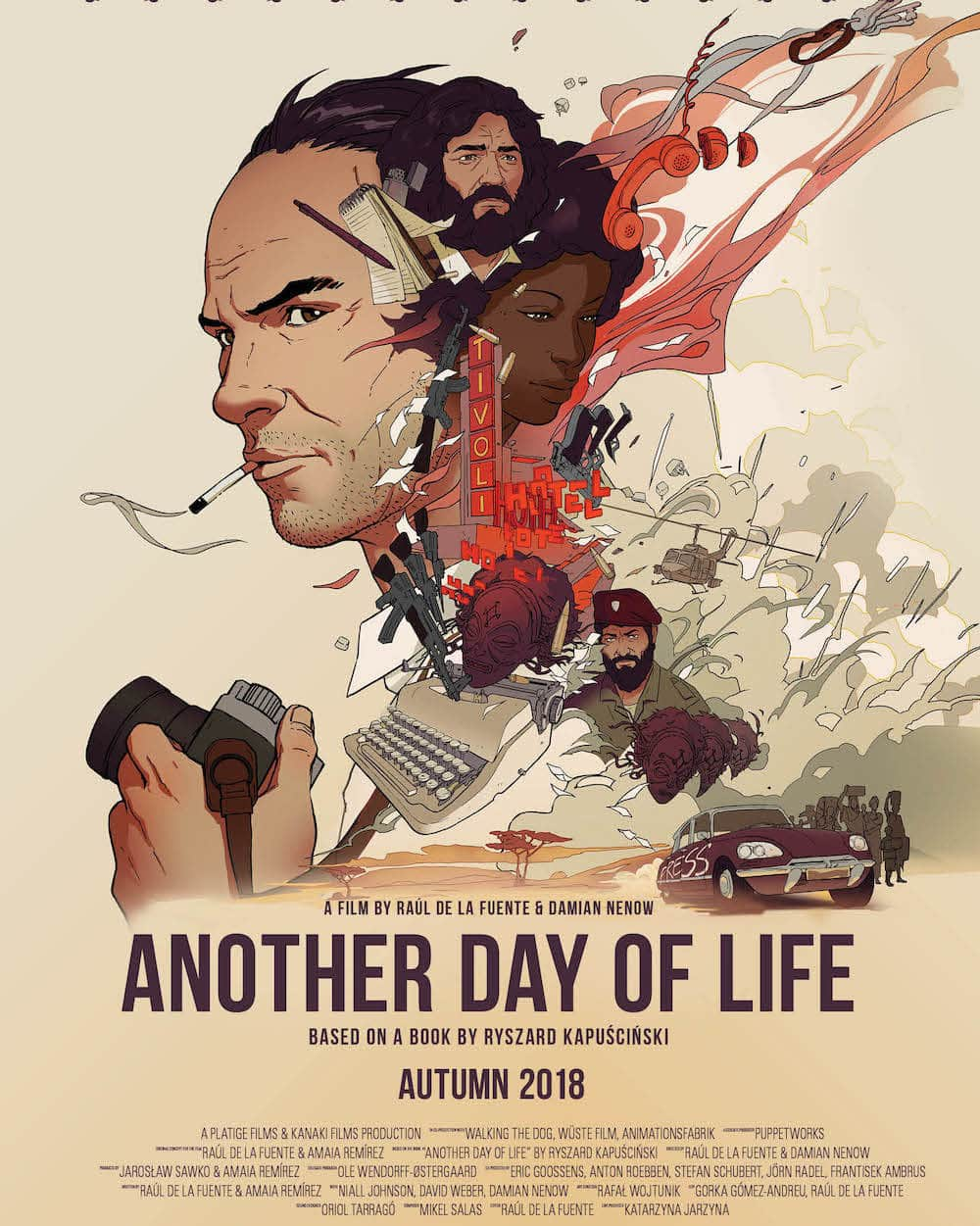 "Affiche du film ""Another Day Of Life""."