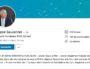 Capture d'écran du profil Linkedin de l'ex-magistrat Philippe Sauvannet.