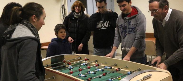 Une école de baby-foot dans le 6è arrondissement de Lyon, un coup à deux «bandes»