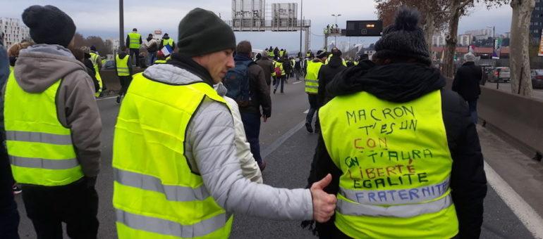 Pic de mobilisation pour l'«Acte VIII» des «gilets jaunes» à Lyon