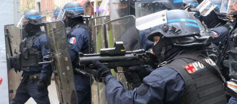 Acte XI des « gilets jaunes » à Lyon : les tirs de la police en forte augmentation