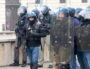 """L'utilisation des caméras embarquées par les forces de l'ordre s'est confirmée lors de l'Acte XI des """"Gilets Jaunes"""" samedi 26 janvier 2019. ©MG/Rue89Lyon"""