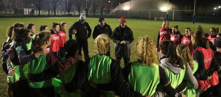 L'équipe féminine du LOU Rugby avance à sa manière à l'ombre de Gerland