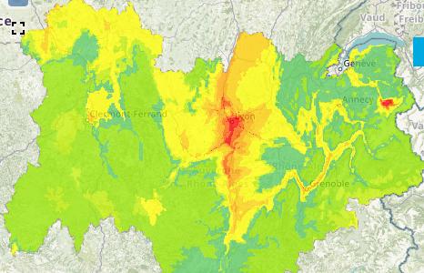 A Lyon, 5ème pic de pollution de l'hiver aux particules fines