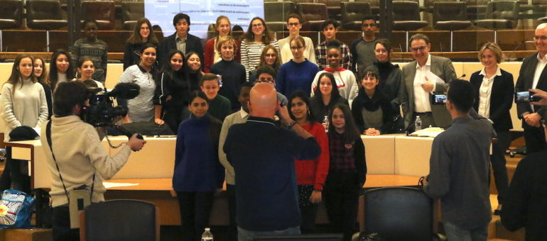 Un «grand débat national» et des revendications chez des collégiens de la Métropole de Lyon