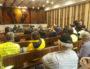 """Audience de référé-liberté concernant la requête demandant l'interdiction des LBD lors des manifestations. Une trentaine de """"gilets jaunes"""" étaient présents. ©LB/Rue89Lyon"""