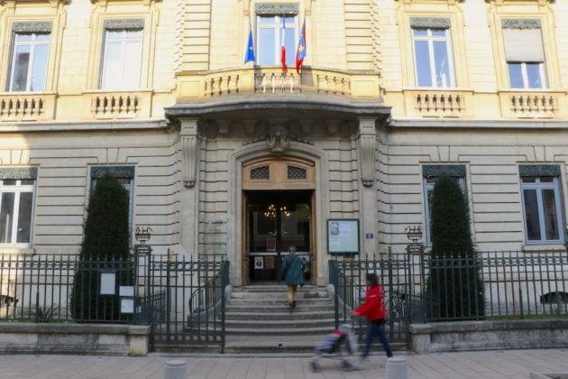 Mairie du 2ème arrondissement de Lyon, 2 rue d'Enghien. ©MG/Rue89Lyon