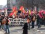 Manifestation intersyndicale au départ de la place Bellecour, mardi 5 février 2019. ©MG/Rue89Lyon