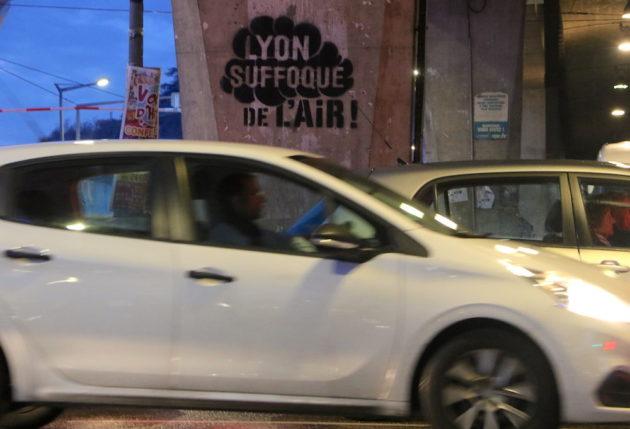 confinement pollution Lyon