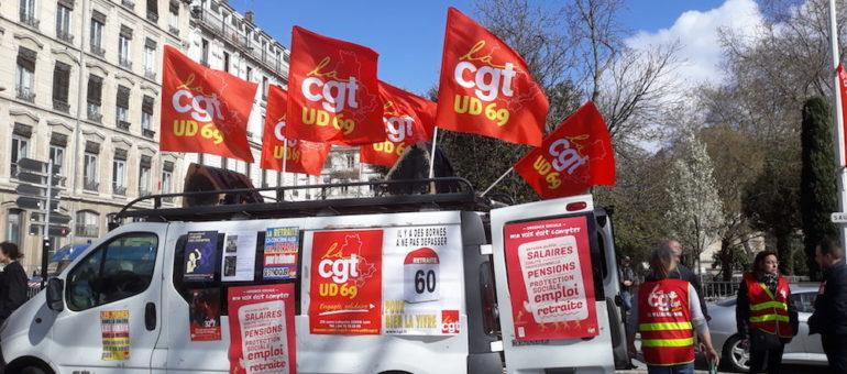 A Lyon, troisième manif intersyndicale : les fonctionnaires en force