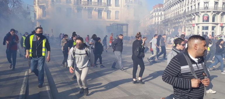 «Gilets jaunes» : fin du périmètre d'interdiction de manifestation dans l'hypercentre de Lyon