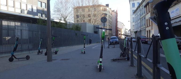 Les trottinettes électriques encadrées : où en est-on à Lyon ?