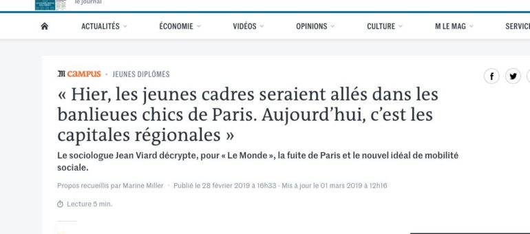 Lyon, le «pays des vacances» pour les cadres parisiens ?