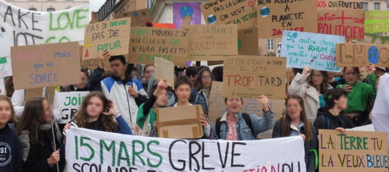 Grève des jeunes pour le climat : une 2ème manifestation à Lyon