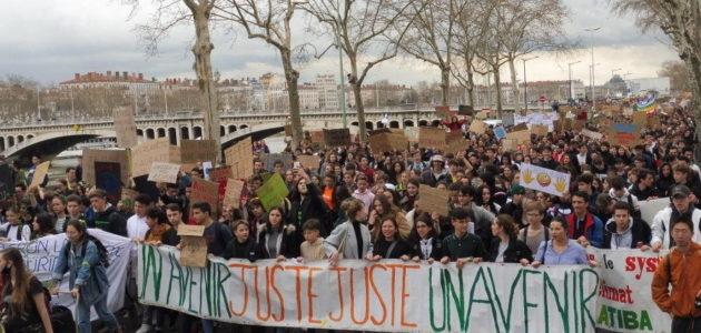 Grève des jeunes pour le climat à Lyon: «c'est une question de vie ou de mort!»